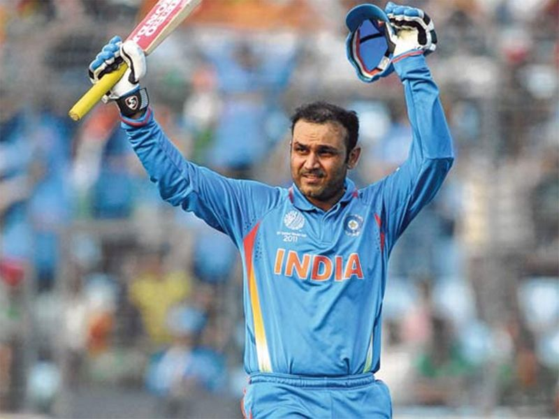 Virender Sehwag India's 2011 World Cup cricket