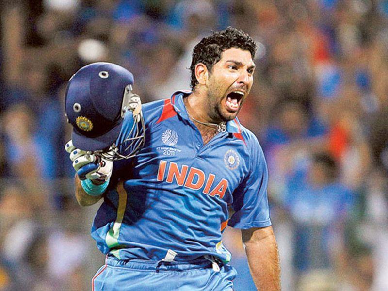 Yuvraj Singh India's 2011 World Cup cricket
