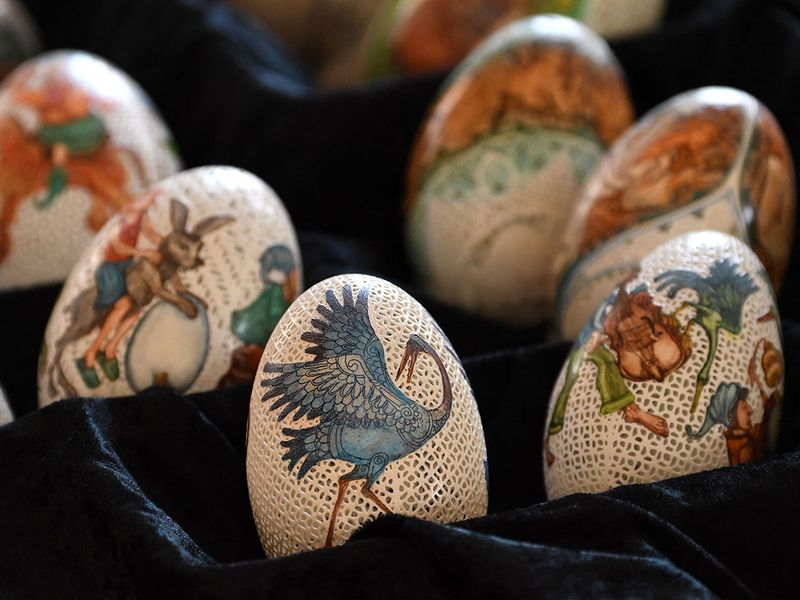 Easter eggs gallery