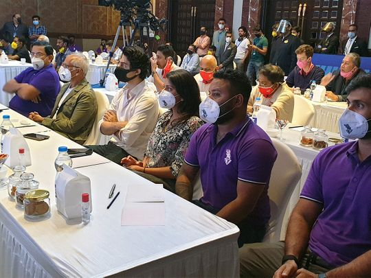 File picture: IPL auction in Chennai