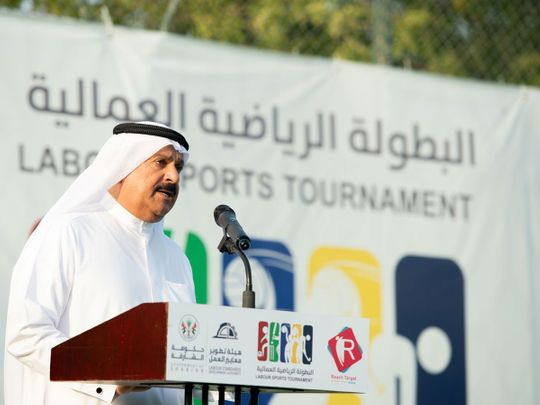 Salem Yousef Al Qaseer, Chairman of the Labour Standards Development Authority in Sharjah