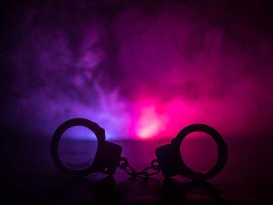 20210404 arrest, handcuff, police