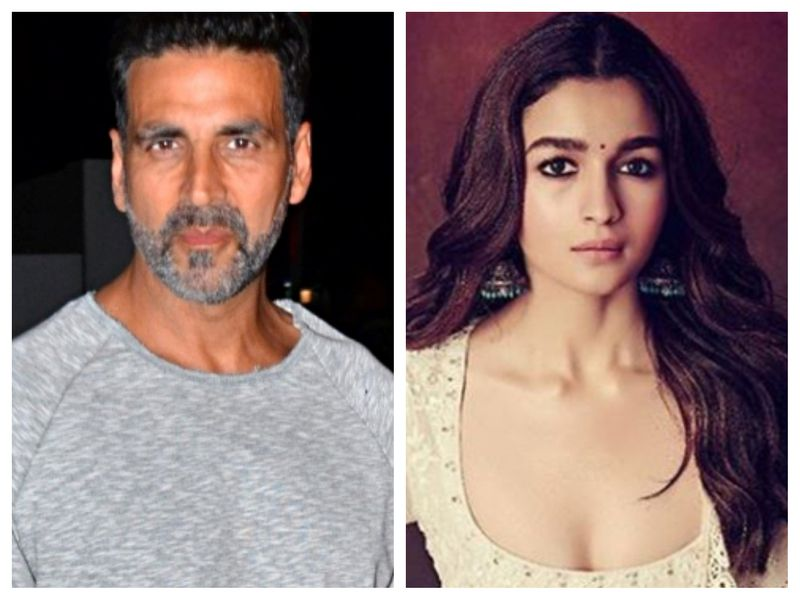 Akshay Kumar and Alia Bhatt