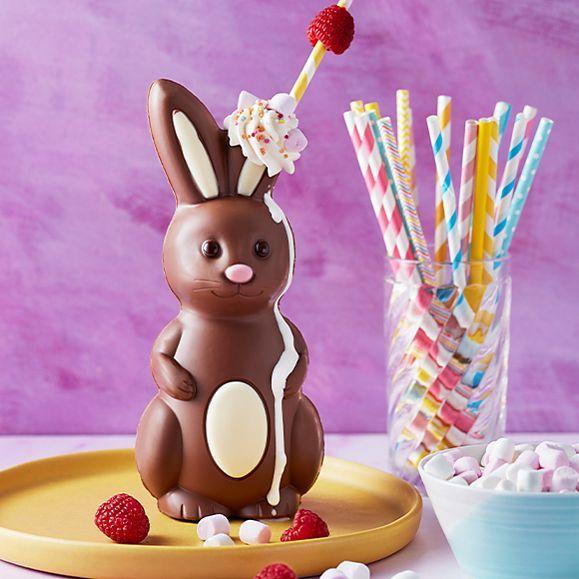 Chocolate bunny milkshake
