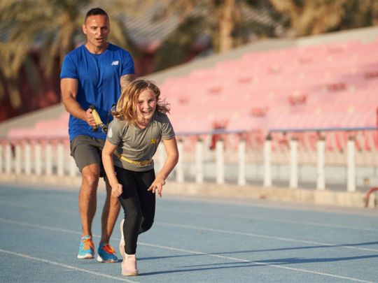 ISD at Dubai Sports City has expanded to include athletics