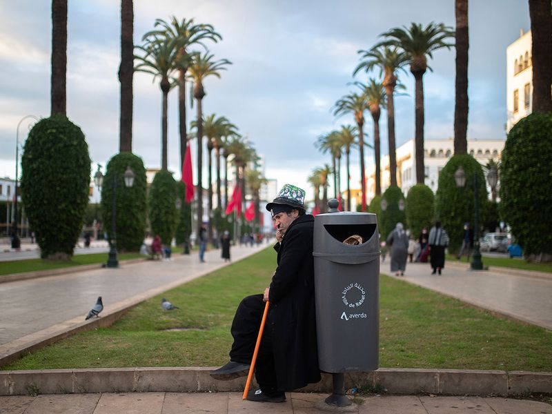 Morocco Charlie Chaplin gallery