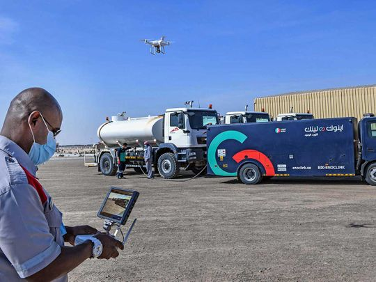 RTA using drones