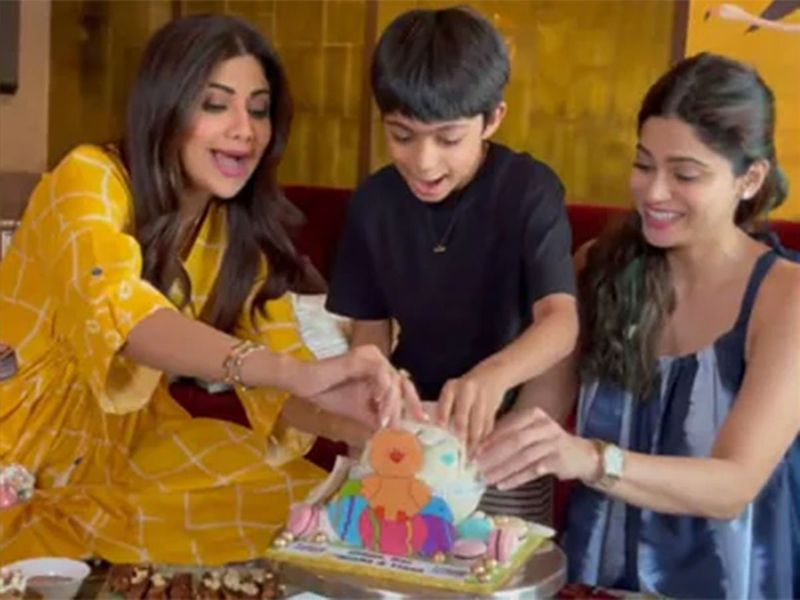 Screen grab from the video uploaded on Instagram by Shilpa Shetty