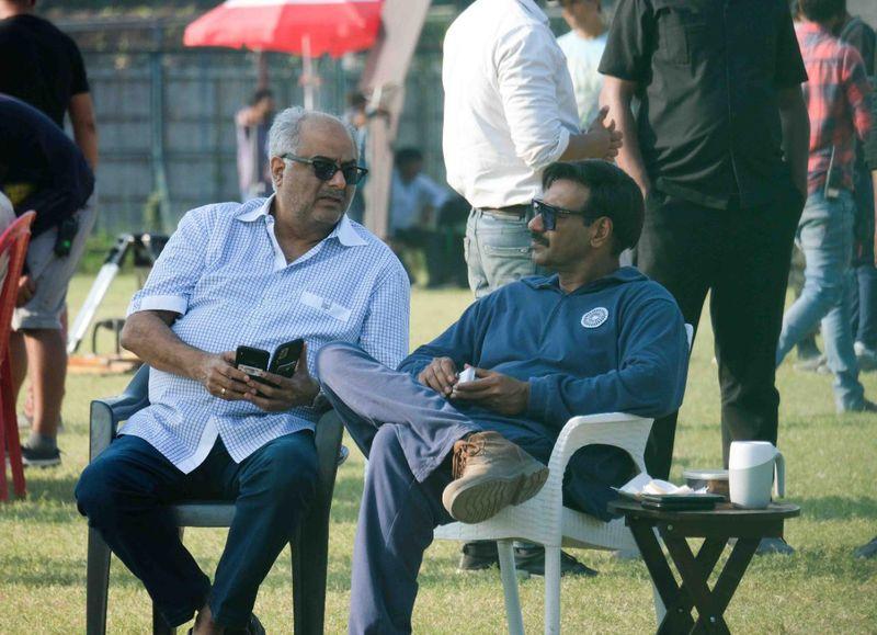 Boney Kapoor with Ajay Devgn-1617626685373