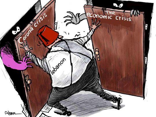 Lebanon covid economic crisis