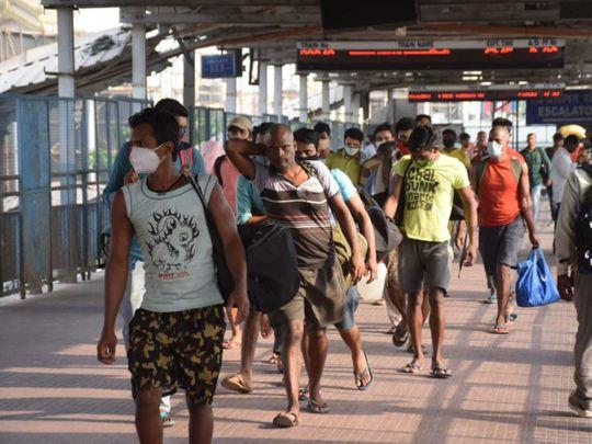 Bihar migrants workers