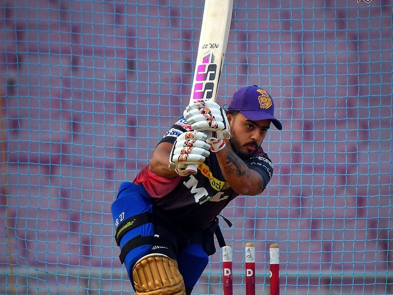 Kolkata Knight Riders will be hoping Nitish Rana can contribute with big hauls