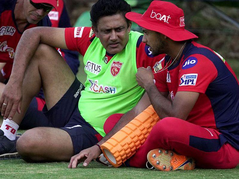 Punjab Kings in training for IPL