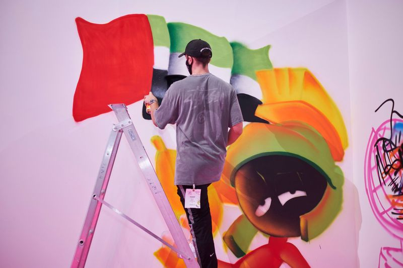 Urban Art DXB will host a live street art jam at World Art Dubai with two teams competing to win a free of charge space at next year's show