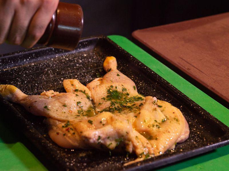 Chicken empanada
