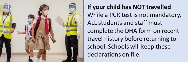 Child covid test