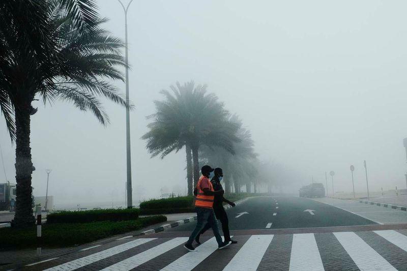 Fog Dubai UAE