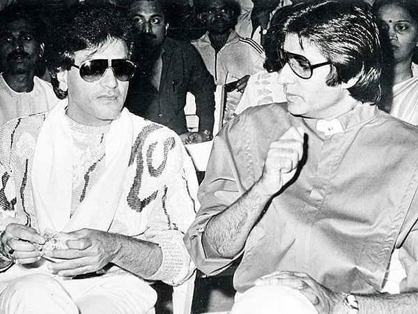 Jeetendra with Amitabh Bachchan