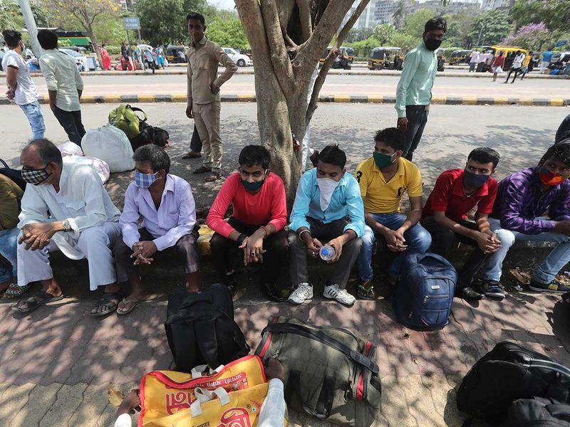 Migrant workers Bihar Mumbai railway