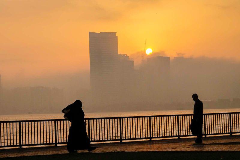 20210408 Fog in sharjah