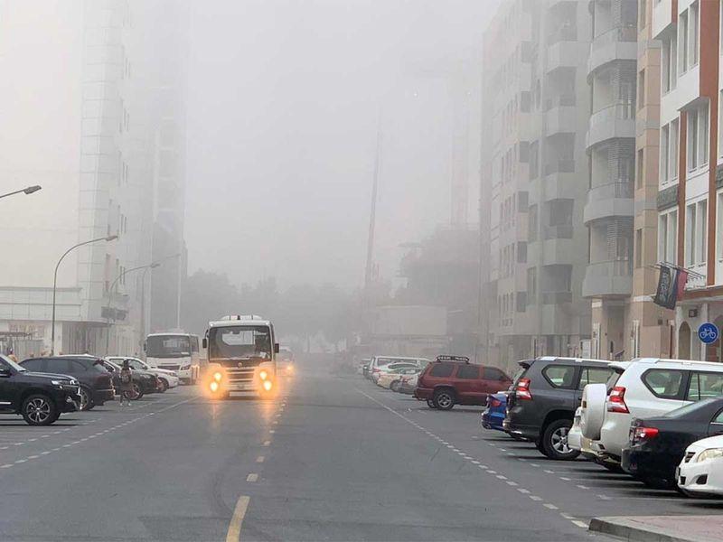 20210408 fog in dubai