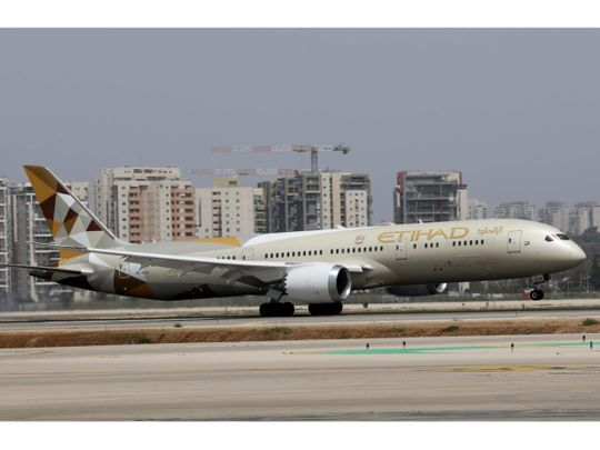 Etihad Airways - Israel