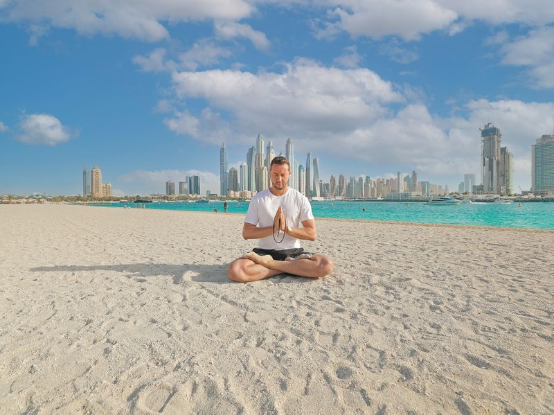 WEst beach yoga