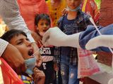 swab sample India children covid