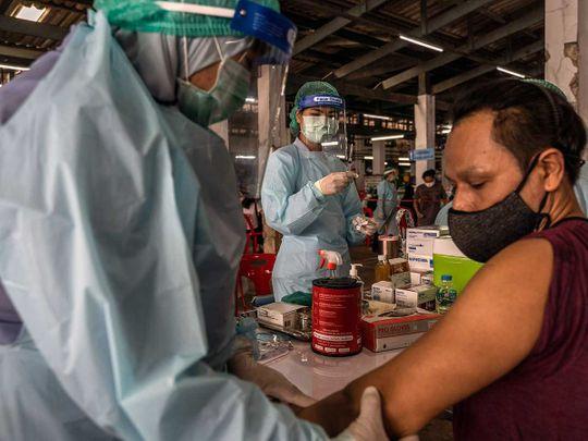 vaccine chicken thailand NVD-HXP-S bangkok