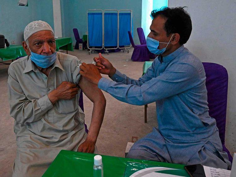 pAKISTAN vaccine sinopharm lahore