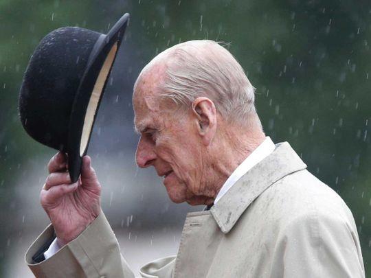 2021 Britain's Prince Philip