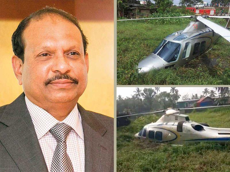 Lulu chairman Yusuff Ali, wife back in Abu Dhabi after forced helicopter landing in Kerala