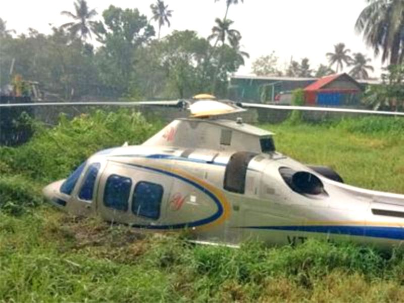 UAE-based Lulu Group chairman Yousuf Ali's helicopter makes emergency landing in Kerala