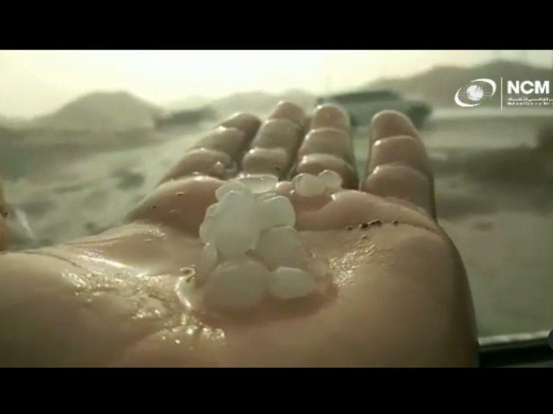 UAE weather: Rain, hail in Fujairah, parts of Sharjah, chance of showers in Abu Dhabi, Al Ain