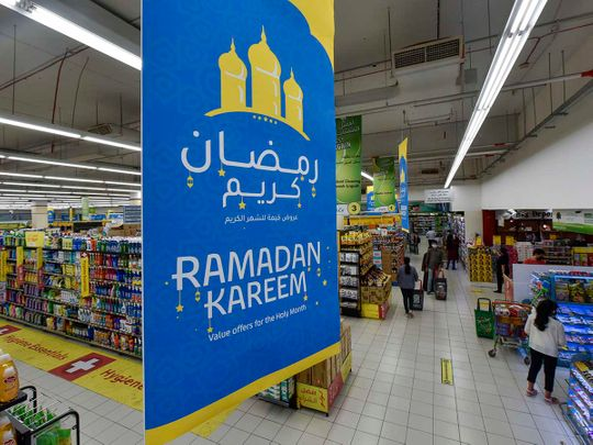 Stock Ramadan Shopping