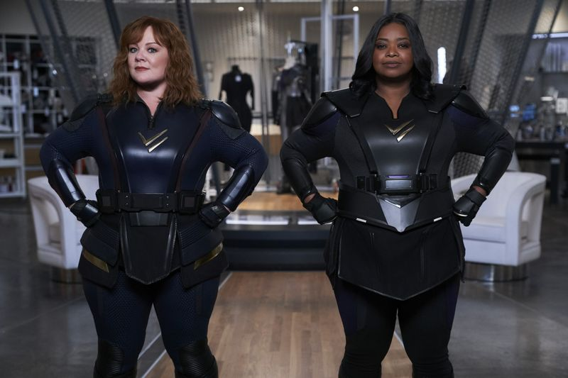 'Thunder Force' review: Melissa McCarthy, Octavia Spencer are unlikely heroes saving Chicago, one mutant at a time