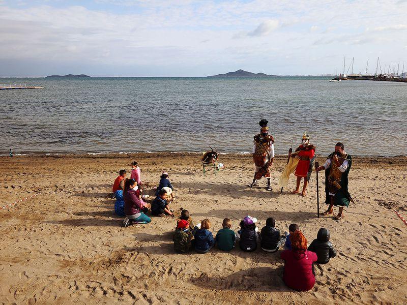 Beach classroom gallery