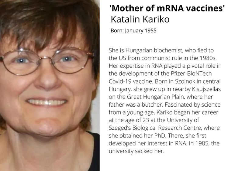Daddy of mRNA vaccines