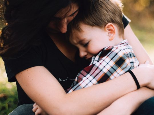 Is it OK to let your child see you cry?