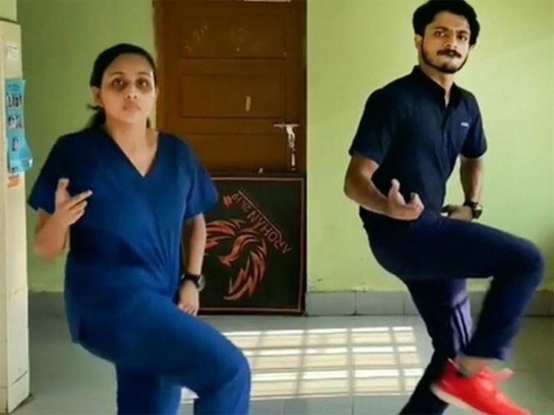 Janaki M Omkumar, a Hindu, and Naveen K Razak, a Muslim, made a dance video that went viral.