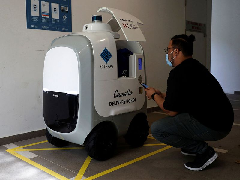 Robot delivery gallery