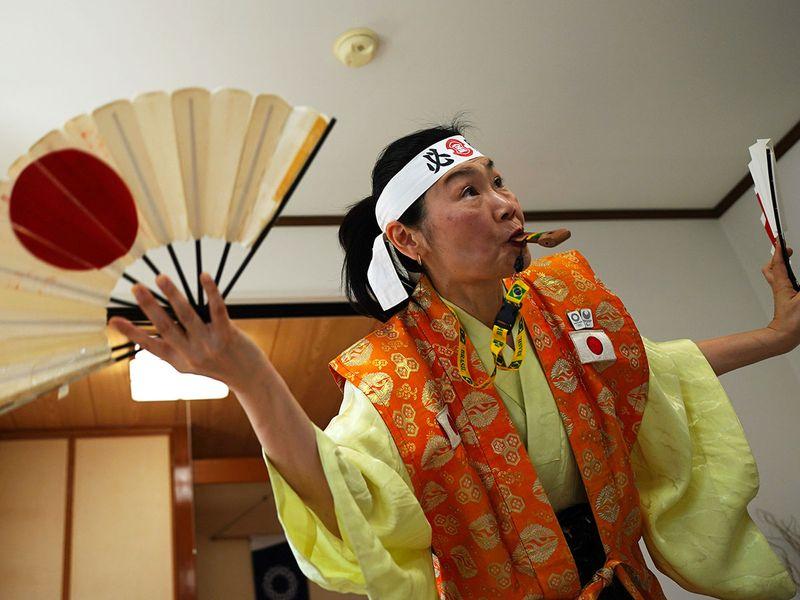Tokyo Olympics super fan