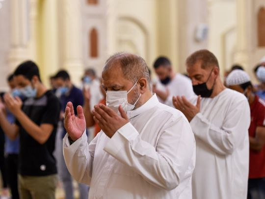 UAE Ramadan prayers Taraweeh COVID