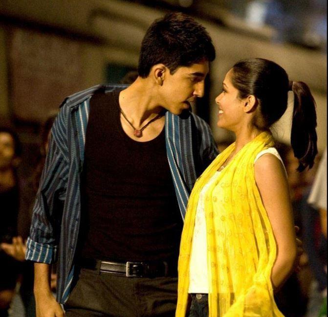 A still from 'Slumdog Millionaire'