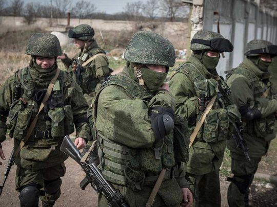 Crimea soldiers