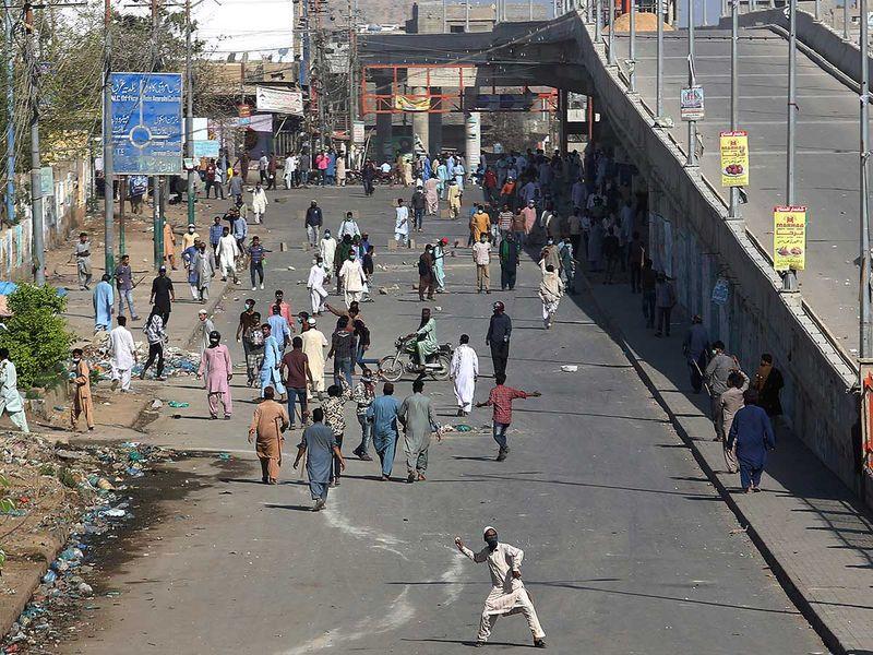 Pakistan protest lahore TLP