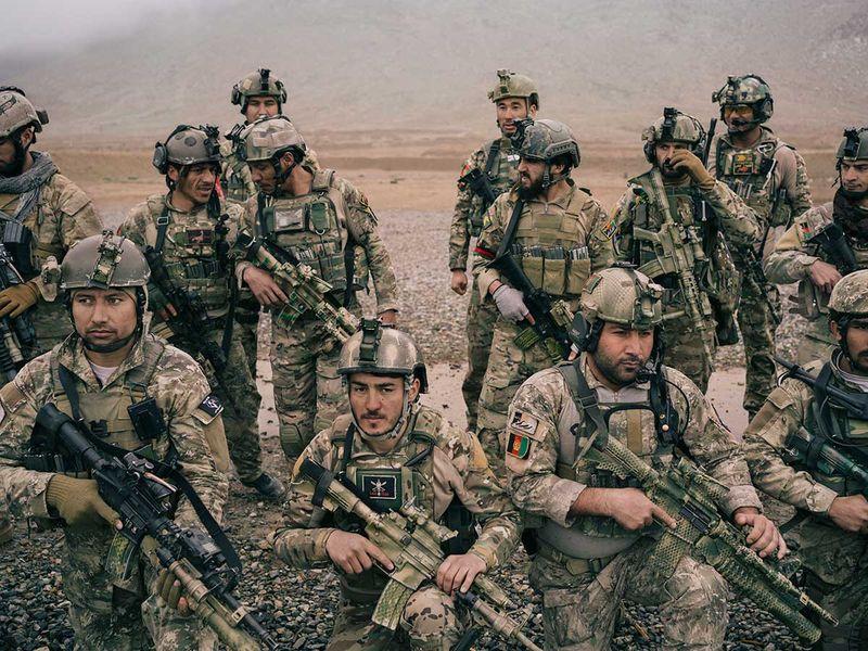 Afghanistan army kabul