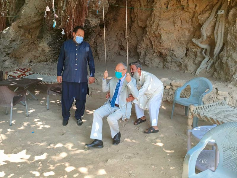 Japan ambassador visits historical site in Pakistan dating back to Alexander's time