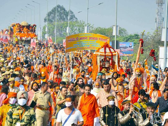 Kumbh india festival celebration