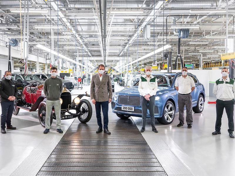 Bentley celebrates 200,000 production milestone
